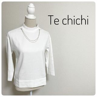 テチチ(Techichi)の♡新品♡【Te chichi】アクセサリー付きトップス(カットソー(長袖/七分))