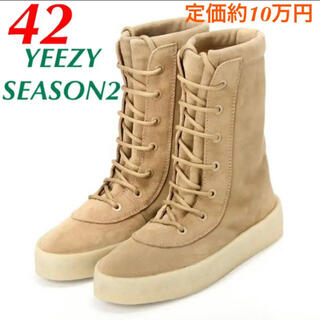 アディダス(adidas)のYEEZY SEASON2 カニエウエスト イージー コンバットブーツ ブーツ(ブーツ)