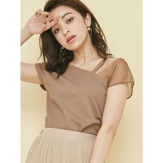 リゼクシー(RESEXXY)のアシメTシャツ(Tシャツ(半袖/袖なし))