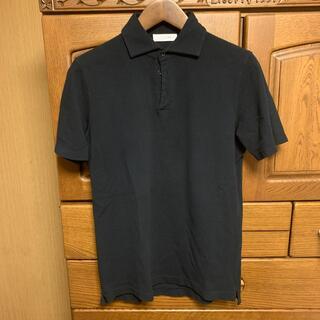 クルチアーニ(Cruciani)の[値下不可]クルチアーニ 鹿子ポロシャツ ネイビー 50(ポロシャツ)