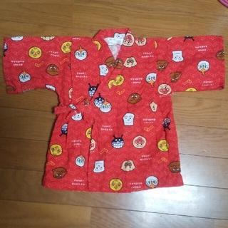アンパンマン(アンパンマン)のアンパンマン 甚平 上着のみ 100 赤色(甚平/浴衣)