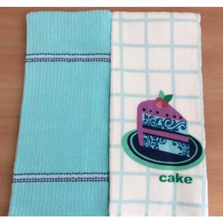 コストコ(コストコ)のコストコ キッチンタオル 2枚 ケーキ柄(タオル/バス用品)