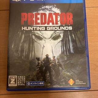 プレイステーション4(PlayStation4)のPS4 PREDATOR:HUNTING GROUNDS 動作品(家庭用ゲームソフト)