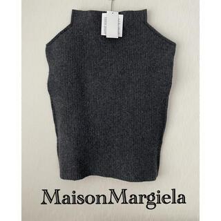 マルタンマルジェラ(Maison Martin Margiela)の【新品】MaisonMargiela  タートルニットベスト(ベスト/ジレ)