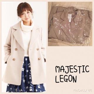 マジェスティックレゴン(MAJESTIC LEGON)の新品♡マジェ Wチェスターコート(チェスターコート)