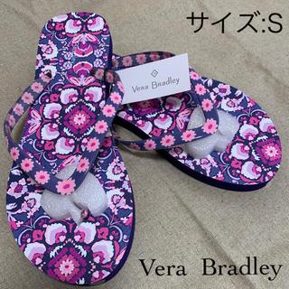ヴェラブラッドリー(Vera Bradley)のヴェラブラドリー   ビーチサンダル Sサイズ:(22~23cm)(ビーチサンダル)