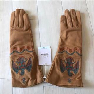 ヴィヴィアンウエストウッド(Vivienne Westwood)の新品 ヴィヴィアンウエストウッド レザーグローブ(手袋)
