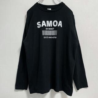 コムデギャルソン(COMME des GARCONS)のsamoa bar code t-shirt(Tシャツ/カットソー(七分/長袖))