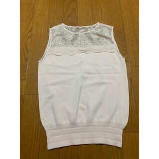 ダブルスタンダードクロージング(DOUBLE STANDARD CLOTHING)のダブスタ ニット トップス(カットソー(半袖/袖なし))