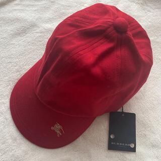 バーバリー(BURBERRY)の未使用Burberry バーバリー キッズ 帽子 キャップ 52(帽子)