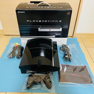 プレイステーション3(PlayStation3)の☆すぐ遊べるセット ほぼ完品☆PS3 本体 初期型 CECHA00 動作確認済み(家庭用ゲーム機本体)