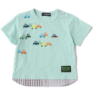kladskap - 新品タグ付き kladskap プリントTシャツ 車 クレードスコープ ナルミヤ