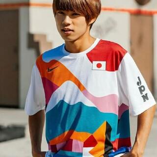 ナイキ(NIKE)のL NIKE SB PARRA CREW JERSEY JAPAN 堀米雄斗(Tシャツ/カットソー(半袖/袖なし))