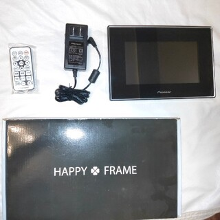 パイオニア(Pioneer)のデジタルフォトフレーム HAPPY FRAME  HF-T730k(フォトフレーム)