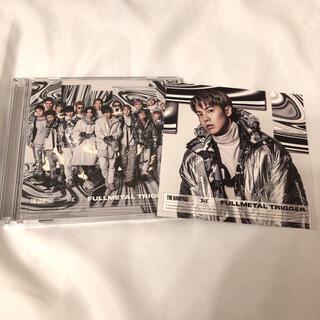 ザランページ(THE RAMPAGE)のFULLMETAL TRIGGER CD+DVD RIKU アザージャケット(ポップス/ロック(邦楽))