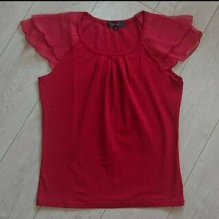 リフレクト(ReFLEcT)のReflect (リフレクト)の赤のカットソー(カットソー(半袖/袖なし))