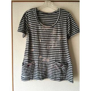 ヘザー(heather)のヘザー ボーダーティシャツ(Tシャツ(半袖/袖なし))