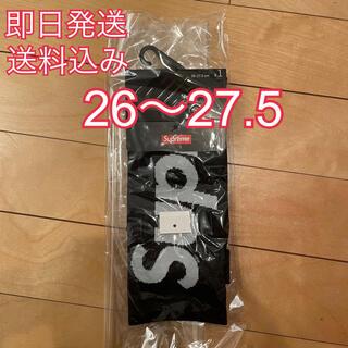 シュプリーム(Supreme)のSupreme Nike Lightweight Crew Socks 靴下 黒(ソックス)