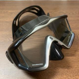 スキューバプロ(SCUBAPRO)のダイビング マスク スキューバプロ CRYSTAL VU MASK(マリン/スイミング)