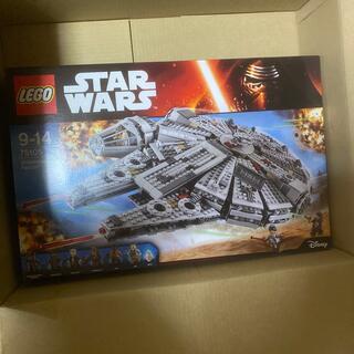 レゴ(Lego)の新品 未開封 レゴ LEGO スターウォーズ ミレニアムファルコン 送料無料(積み木/ブロック)