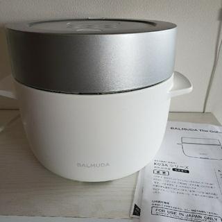 バルミューダ(BALMUDA)のBALMUDA バルミューダ炊飯器 BALMUDA The GohanK03(炊飯器)