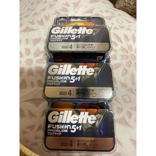 ジレ(gilet)のジレットフュージョン5+1プログライト電動替刃12個(メンズシェーバー)