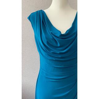 ラルフローレン(Ralph Lauren)のラルフローレン ジャージー カウルネック ドレス(ロングワンピース/マキシワンピース)