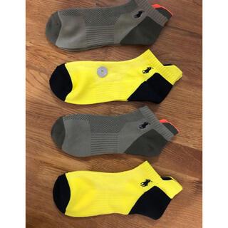 ラルフローレン(Ralph Lauren)の新品ポロラルフローレン メンズソックス速乾性 靴下 4足セット2203(ソックス)