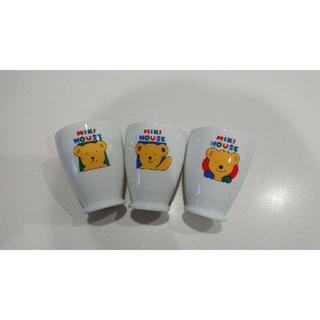 ミキハウス(mikihouse)のミキハウス 陶器コップ3個セット(グラス/カップ)
