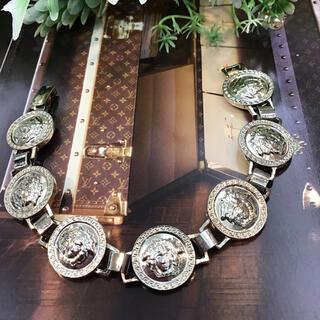 ジャンニヴェルサーチ(Gianni Versace)のジャンニヴェルサーチ ♡ ブレスレット ♡ シルバー(ブレスレット)