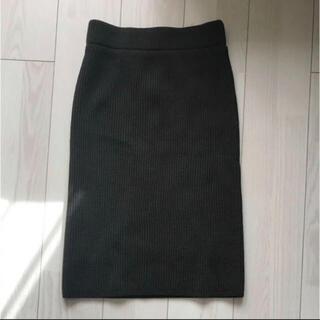 ハイク(HYKE)のHYKEニットスカート(ひざ丈スカート)