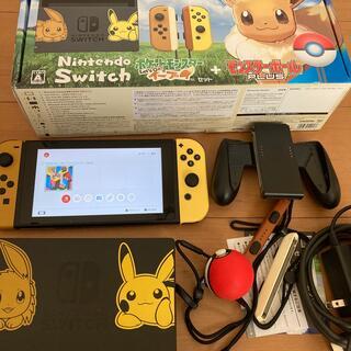 ニンテンドースイッチ(Nintendo Switch)のNintendo Switch ポケットモンスター Let's Go! イーブイ(家庭用ゲーム機本体)