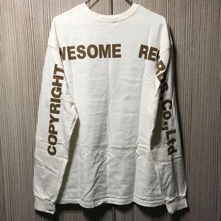 スナイデル(snidel)の美品 SNIDEL ロングtシャツ トップス ロゴ スナイデル(Tシャツ(長袖/七分))