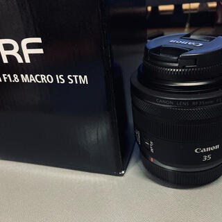 キヤノン(Canon)のCANON RF35mm F1.8 マクロ IS STM(レンズ(単焦点))