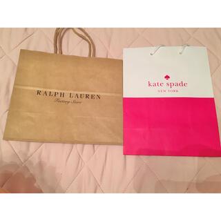 ラルフローレン(Ralph Lauren)のブランドショップ袋2点セット(ショップ袋)