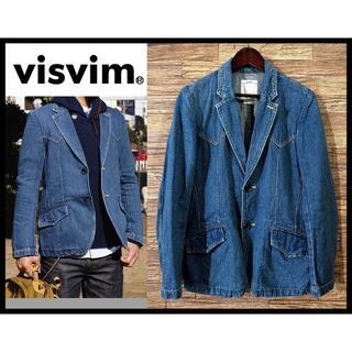 VISVIM - VISVIM ビズビム ビンテージ 加工 ウエスタン デニム ジャケット M