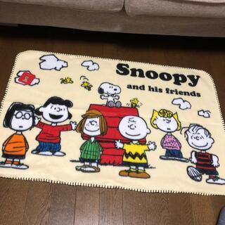 スヌーピー(SNOOPY)のスヌーピー ファミリーキャラクター ぬくもりのブランケット(おくるみ/ブランケット)