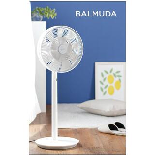 バルミューダ(BALMUDA)のバルミューダ 扇風機 GreenFan EGF-1700-WG(扇風機)