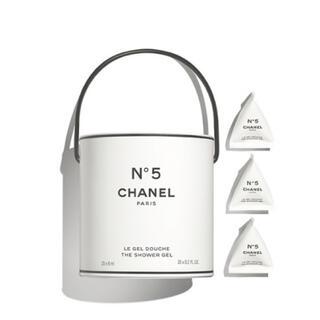 シャネル(CHANEL)のボンド様 専用  2個のシャネル Nº5 ザ シャワー ジェル バケット(バスグッズ)