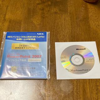 マイクロソフト(Microsoft)のPowerPointパワーポイント2007 ソフトウェアオフィス(コンピュータ/IT)