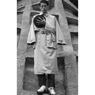 マルタンマルジェラ(Maison Martin Margiela)のソウシオオツキ SOSHIOTSUKI  GAITOU coat  21ss(トレンチコート)