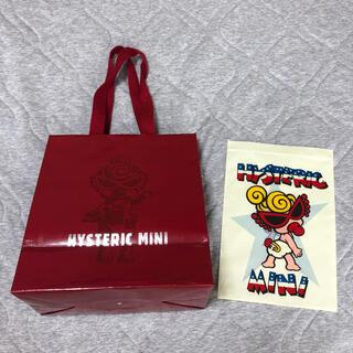 ヒステリックミニ(HYSTERIC MINI)のヒスミニ◡̈⃝紙袋&ジッパー袋(ショップ袋)