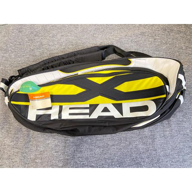 HEAD(ヘッド)のHEAD テニスラケットバッグ スポーツ/アウトドアのテニス(バッグ)の商品写真