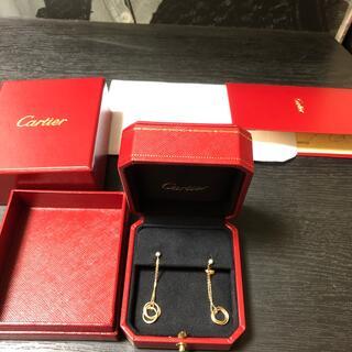 カルティエ(Cartier)の正規品保証❤️カルティエ トリニティ チェーンピアス❤️(ピアス)