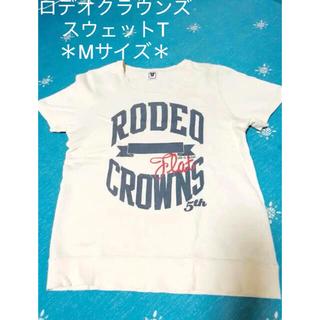 ロデオクラウンズ(RODEO CROWNS)の美品 Rodeo Crowns スウェットT(Tシャツ(半袖/袖なし))