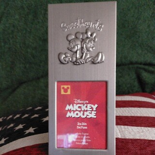 ミッキーマウス(ミッキーマウス)のミッキー&ミニー フォトフレーム(フォトフレーム)