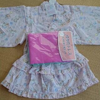 サンリオ(サンリオ)のキキララ浴衣120(甚平/浴衣)
