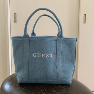 ゲス(GUESS)のGuess 新作トートバッグ デニム 定価6900円+tax(トートバッグ)