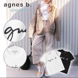 アニエスベー(agnes b.)のアニエスベーagnes.b 子供服 女の子 Tシャツ 半袖 Lサイズ(Tシャツ/カットソー)