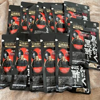 コバヤシセイヤク(小林製薬)の黒にんにく黒酢もろみ13袋(その他)